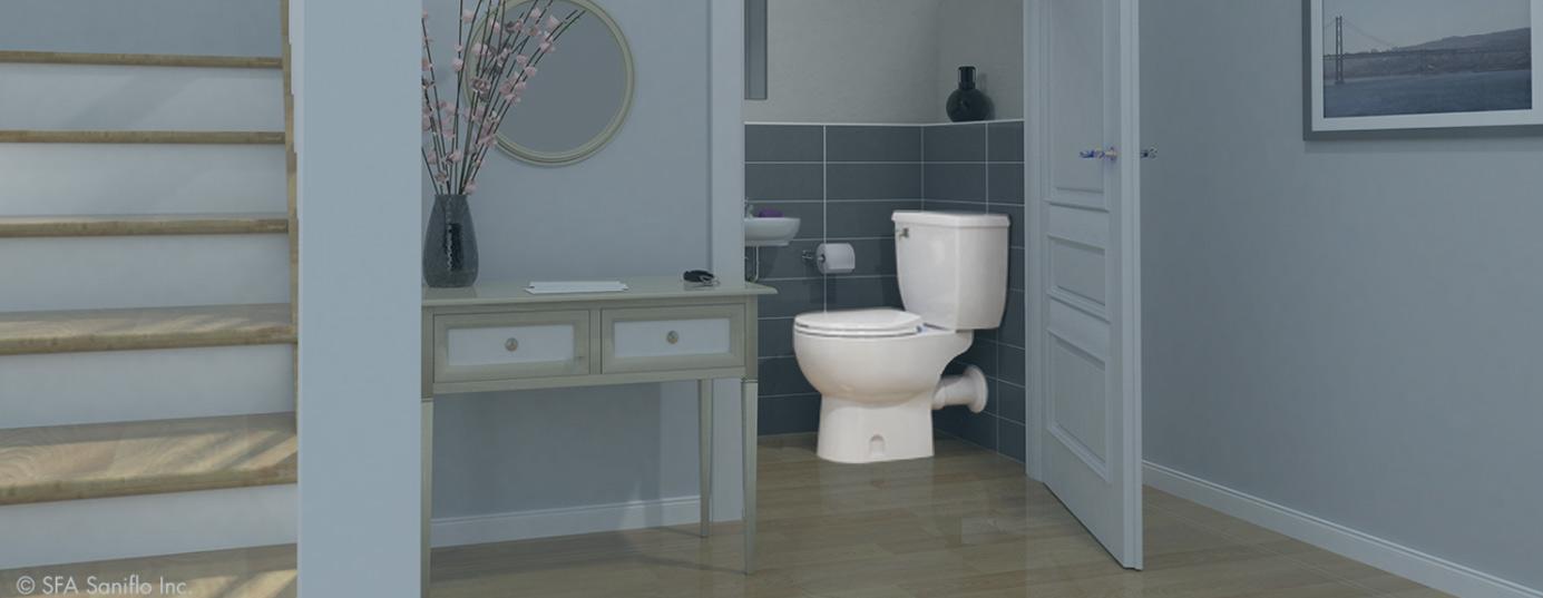 SANIFLO | Add A Bathroom Anywhere